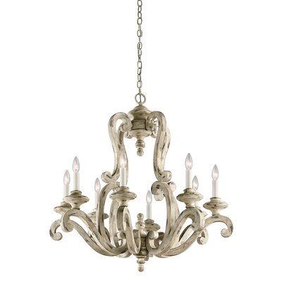 Clarksburg 8-Light Candle-Style Chandelier
