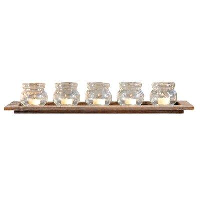 6 Piece Glass Votive Set HLDS4357 40849891