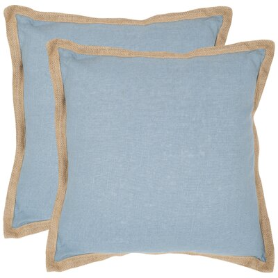 Arvie Throw Pillow Size: 18 H x 18 W x 2.5 D