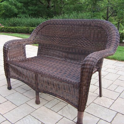 Kingsmill Traditional Loveseat Finish: Coffee