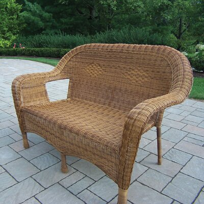 Kingsmill Traditional Loveseat Finish: Natural