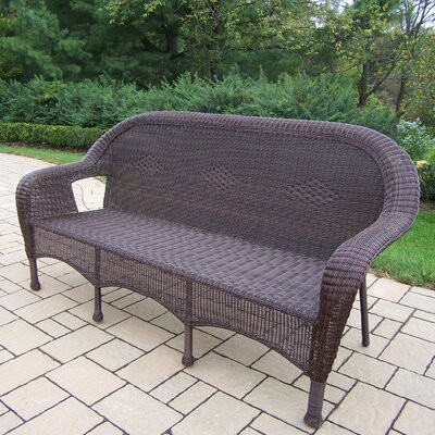 Kingsmill 3 Person Settee Finish: Coffee