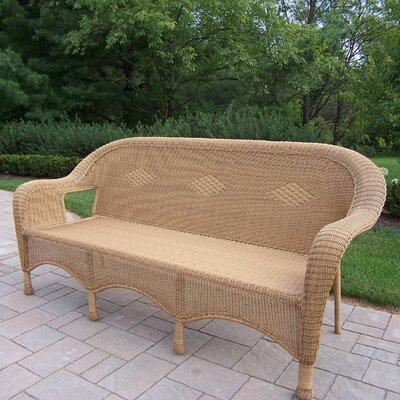 Claremont 3 Person Settee Finish: Honey