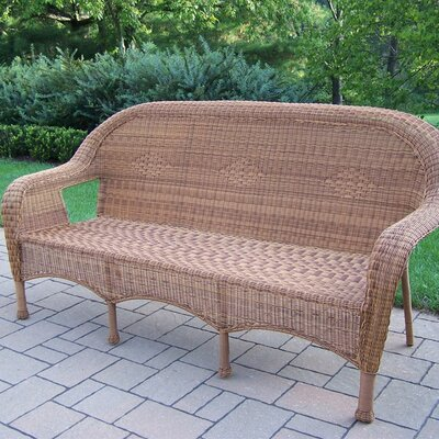 Kingsmill 3 Person Settee Finish: Natural