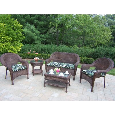 Kingsmill 5 Piece Lounge Seating Group Set