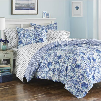 Hadassah 3 Piece Reversible Quilt Set Size: Twin