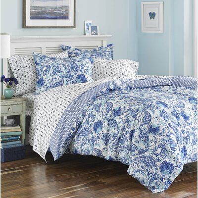 Hadassah Reversible Duvet Set Size: King