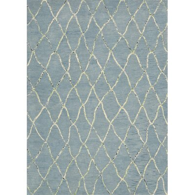 Mahoney Handmade Wave Area Rug Rug Size: Rectangle 53 x 75