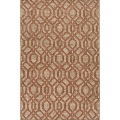 Cheyney Hand Woven Brown/Beige Area Rug Rug Size: Rectangle 2 x 3