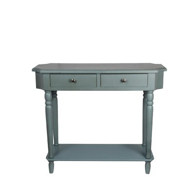 Juliane Console Table Color: Sage