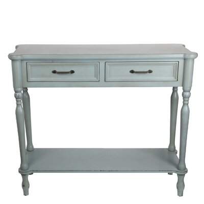 Dales Console Table Color: Sage