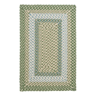 Marathovounos Pad Green Rug Rug Size: Rectangle 4 x 6
