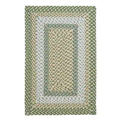 Marathovounos Pad Green Rug Rug Size: 5 x 8