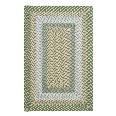 Marathovounos Pad Green Rug Rug Size: 7 x 9