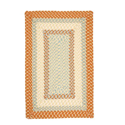 Marathovounos Tangerine Kids Indoor/Outdoor Area Rug Rug Size: Square 6