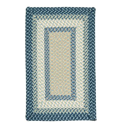 Marathovounos Blue Burst Kids Indoor/Outdoor Area Rug Rug Size: Square 6