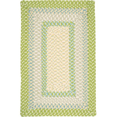 Marathovounos Lime Twist Kids Indoor/Outdoor Area Rug Rug Size: Square 10
