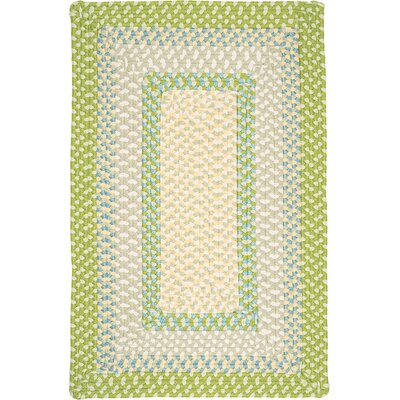 Marathovounos Lime Twist Kids Indoor/Outdoor Area Rug Rug Size: 2 x 4