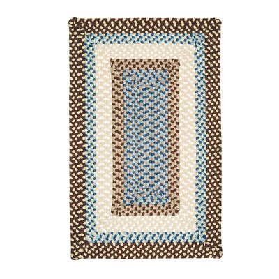 Marathovounos Border Bright Brown Kids Indoor/Outdoor Area Rug Rug Size: Rectangle 8 x 11