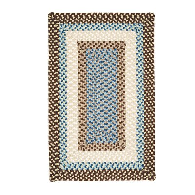 Marathovounos Border Bright Brown Kids Indoor/Outdoor Area Rug Rug Size: 7 x 9