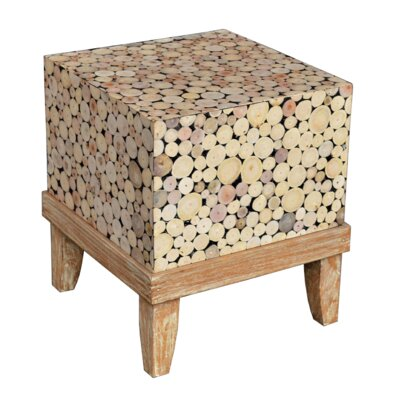 Kenia Hand Crafted End Table