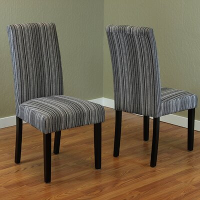 Vaughn Parsons Chair Upholstery: Gray