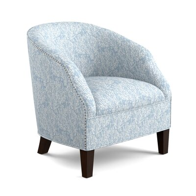 Emblyn Barrel Chair Color: Blue