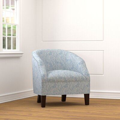 Emblyn Barrel Chair Upholstery: Blue