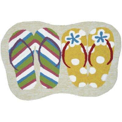 Colfax Summer Sandal Kitchen Mat
