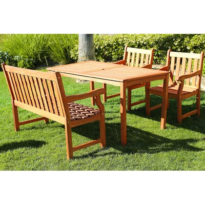 Harpers 4-Piece Dining Set