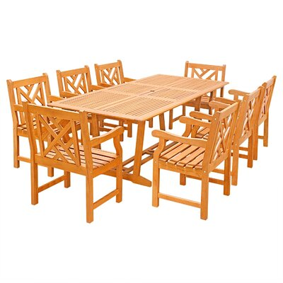 Rockwood 9 Piece Dining Set