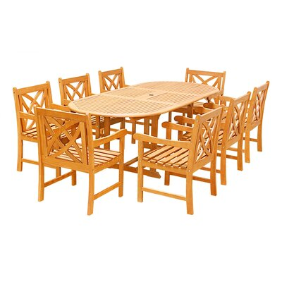 Maybeck 9 Piece Dining Set