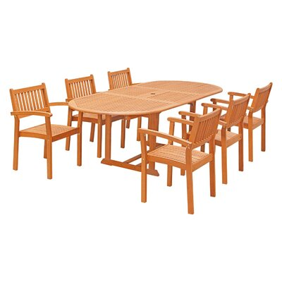 Edgewood 7 Piece Dining Set