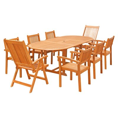 Cornwell 9-Piece Dining Set