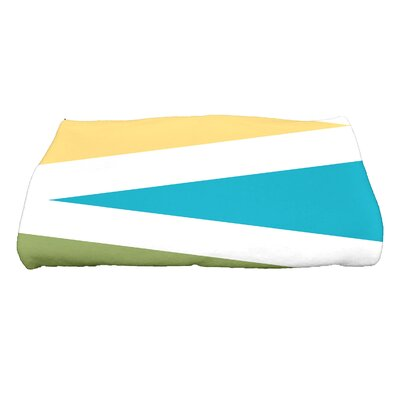 Boubacar Print Bath Towel Color: Turquoise