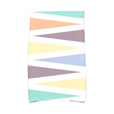 Boubacar Backgammon Geometric Print Hand Towel Color: Lavender