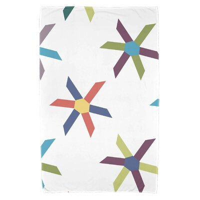 Boubacar Pinwheel Pop Beach Towel Color: Turquoise