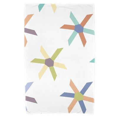 Boubacar Pinwheel Pop Beach Towel Color: Lavender