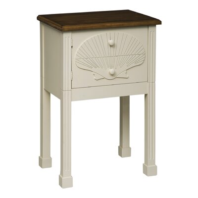 Tensaw Scallop Shell End Table