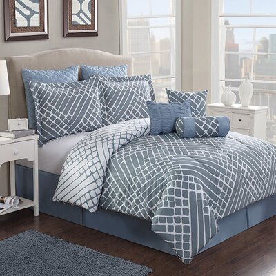 Fernandina Beach 7 Piece Comforter Set Size: Queen