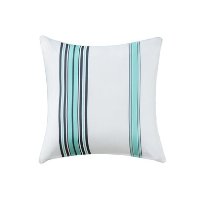 Corbin Outdoor Throw Pillow Size: 26 H x 26 W x 5 D, Color: Blue
