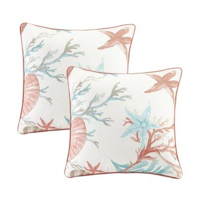 Keyport 100% Cotton Throw Pillow