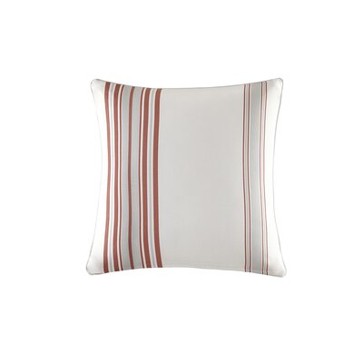 Corbin Outdoor Throw Pillow Size: 26 H x 26 W x 5 D, Color: Coral