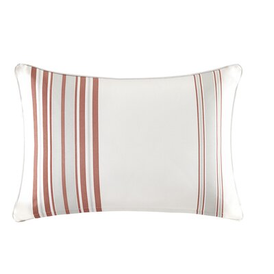 Corbin Outdoor Lumbar Pillow Color: Coral