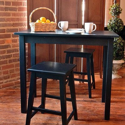 Waquoit Dining Table Finish: Antique Black