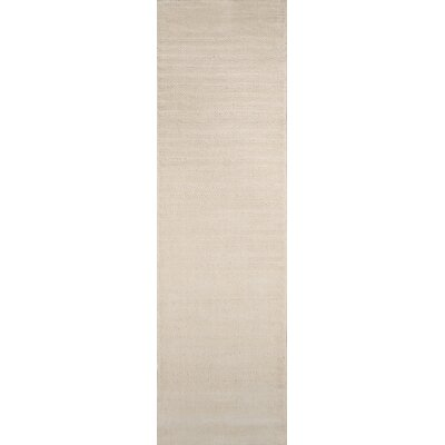 Bryson Hand-Loomed Ivory Area Rug Rug Size: Runner 23 x 8