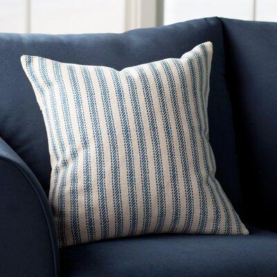 DeSoto Pillow Cover with Hidden Zipper Color: Natural Gray