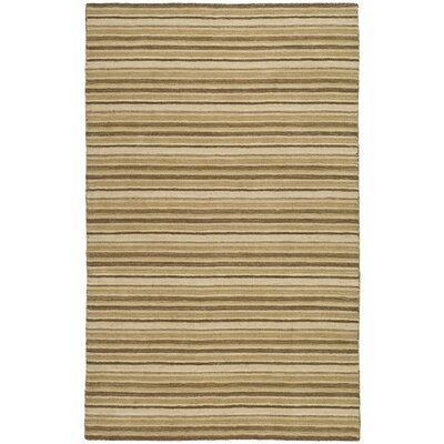 Frederica Brown Stripe Area Rug Rug Size: 4 x 6