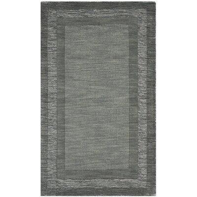Frederica Dark Gray Area Rug Rug Size: Rectangle 83 x 11