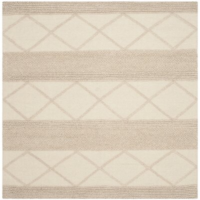 Williston Highlands Ivory Area Rug Rug Size: Square 6